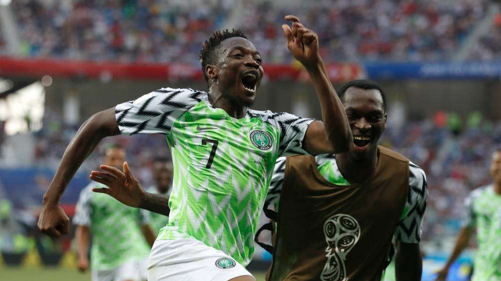 2018 World Cup: Nigeria 2-0 Iceland - Musa double boosts Eagles hopes