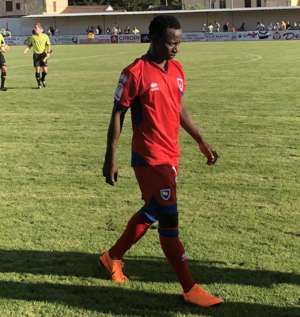 VIDEO: Watch Yaw Yeboah's fantastic brace for CD Numancia against SC Huesca