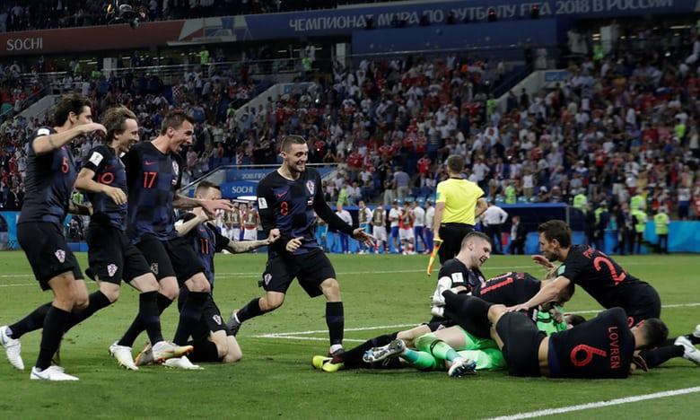 2018 World Cup: Russia 2(3)-2(4) Croatia - Croatia defeat host nation Russia on penalties to reach semi-final