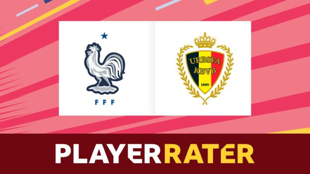 World Cup: France v Belgium - rate the players