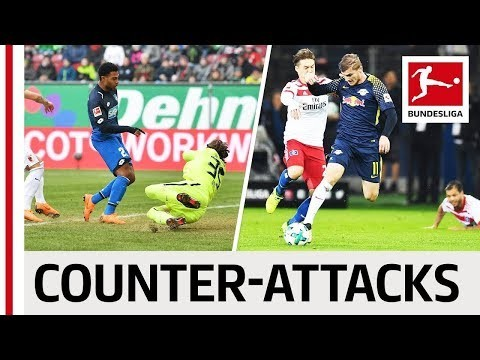 Top 10 Counter-Attack Goals 2017/18 - Maximum Speed With Werner, Gnabry & Many More