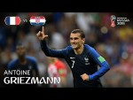 Antoine GRIEZMANN Goal – France v Croatia - 2018 FIFA World Cup™ FINAL