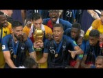 FRANCE v CROATIA HIGHLIGHTS AND TROPHY LIFT - FIFA World Cup Final