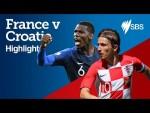 FRANCE v CROATIA HIGHLIGHTS - FIFA World Cup Final
