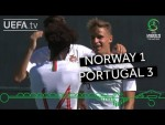 U19 EURO highlights: Norway 1-3 Portugal