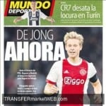BARCELONA FC agree move with Frenkie DE JONG. Ajax talks ongoing