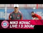 🔴 LIVE | Pressetalk mit Niko Kovac