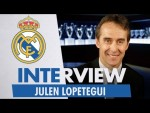 Exclusive Interview | JULEN LOPETEGUI | NEW Real Madrid Coach