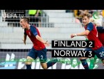 #U19EURO highlights: Finland 2-3 Norway