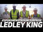 NEW KIT | LEDLEY KING SURPRISES FANS AT SPURS NEW STADIUM