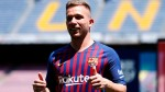 Barcelona's new signing Arthur hitting the ground running, looking right at home