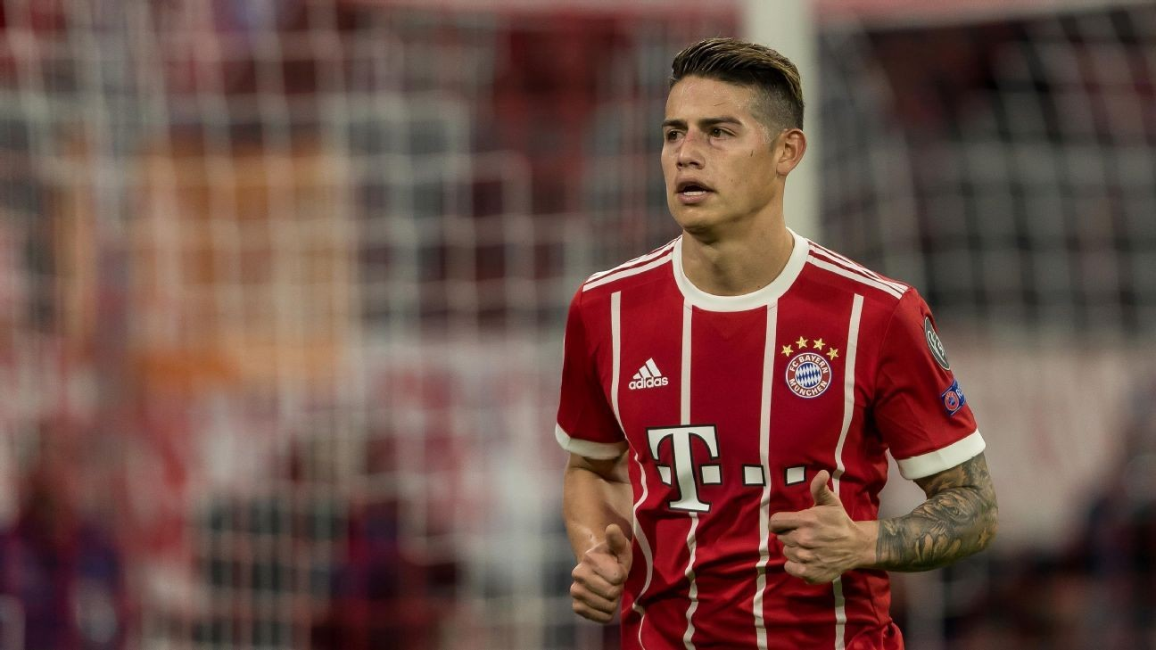 Bayern chief rubbishes reports of James Rodriguez's return to Real Madrid