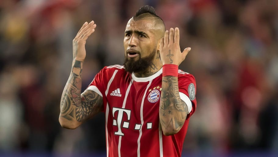 Inter Edge Towards Finalising a Deal for Bayern Munich's Arturo Vidal & Set to Submit €24m Bid