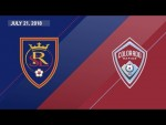 HIGHLIGHTS: Real Salt Lake vs. Colorado Rapids | July 21, 2018
