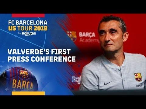 """Valverde: """"La exigencia en el Barça es ganarlo todo"""""""