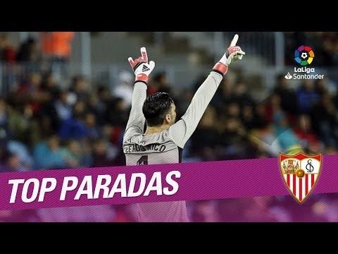 TOP Paradas Sevilla FC LaLiga Santander 2017/2018