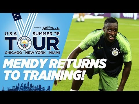 SHARK BACK IN THE WATER! | Mendy at Training! | City in the US | Miami Hard Rock Stadium