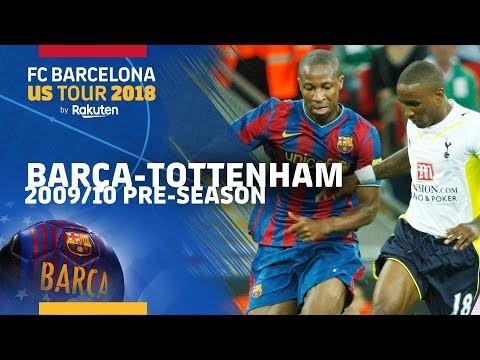 BARÇA-TOTTENHAM | 2009/10 pre-season match highlights (1-1)