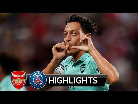 Arsenal vs PSG 5-1 - All Goals & Extended Highlights - Friendly - 28/07/2018 HD