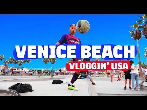 Showtime at Venice Beach VLOG   Vloggin' USA