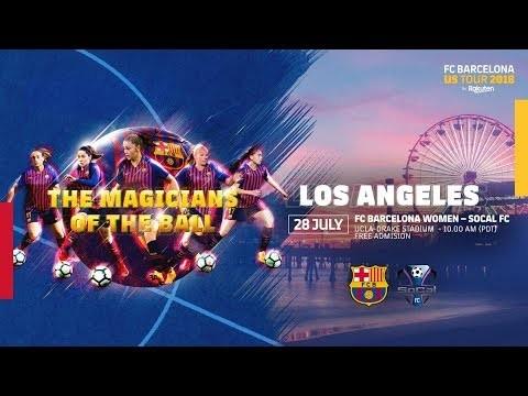 DIRECTO / Barça Femenino - SoCal FC (Amistoso, 19.00h)