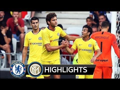 Chelsea vs Inter Milan 1-1 (5-4 Pen.) Extended Match Highlights - 25/07/2018 HD