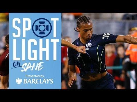 LEROY SANE   Man City vs Liverpool   SPOTLIGHT ON SANE