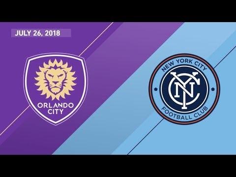 HIGHLIGHTS: Orlando City SC vs. New York City FC | July 26, 2018