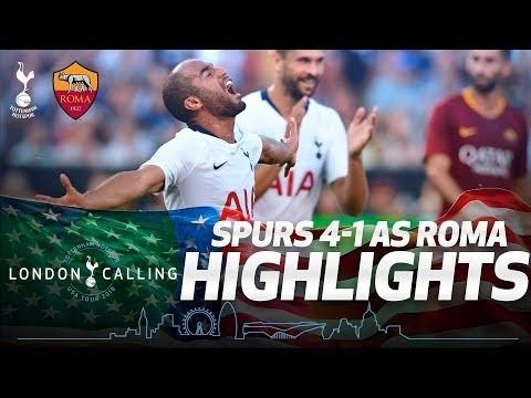 SPURS 4-1 AS ROMA | HIGHLIGHTS | #SpursInUSA
