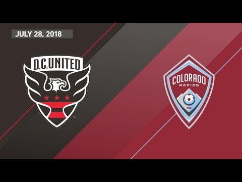 HIGHLIGHTS: D.C. United vs. Colorado Rapids   July 28, 2018