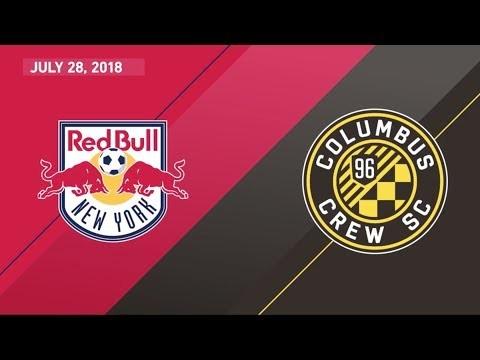HIGHLIGHTS: New York Red Bulls vs. Columbus Crew SC   July 28, 2018