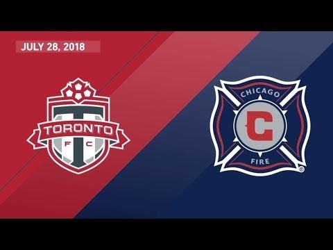 HIGHLIGHTS: Toronto FC vs. Chicago Fire   July 28, 2018