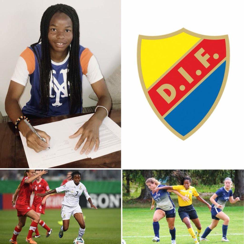 BREAKING NEWS: Ghana international Sherifatu Sumaila signs for Swedish side Djurgårdens IF Damfotboll