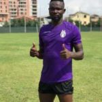 PHOTOS: Former Hearts of Oak defender Vincent Atingah starts training with new club KF Tirana