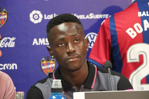 Emmanuel Boateng to join Levante preseason squad on Thursday
