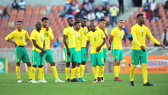 Feature: World Cup shows how far Bafana Bafana have fallen