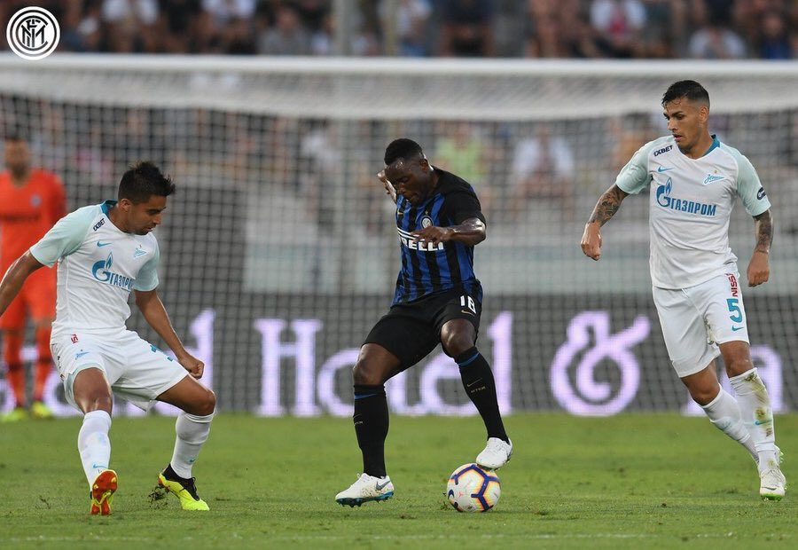 Kwadwo Asamoah excels as Inter Milan share spoils with Zenith in pre-season friendly