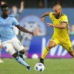 Ghana midfielder Ebenezer Ofori stars as New York City FC beat Columbus Crew in MLS