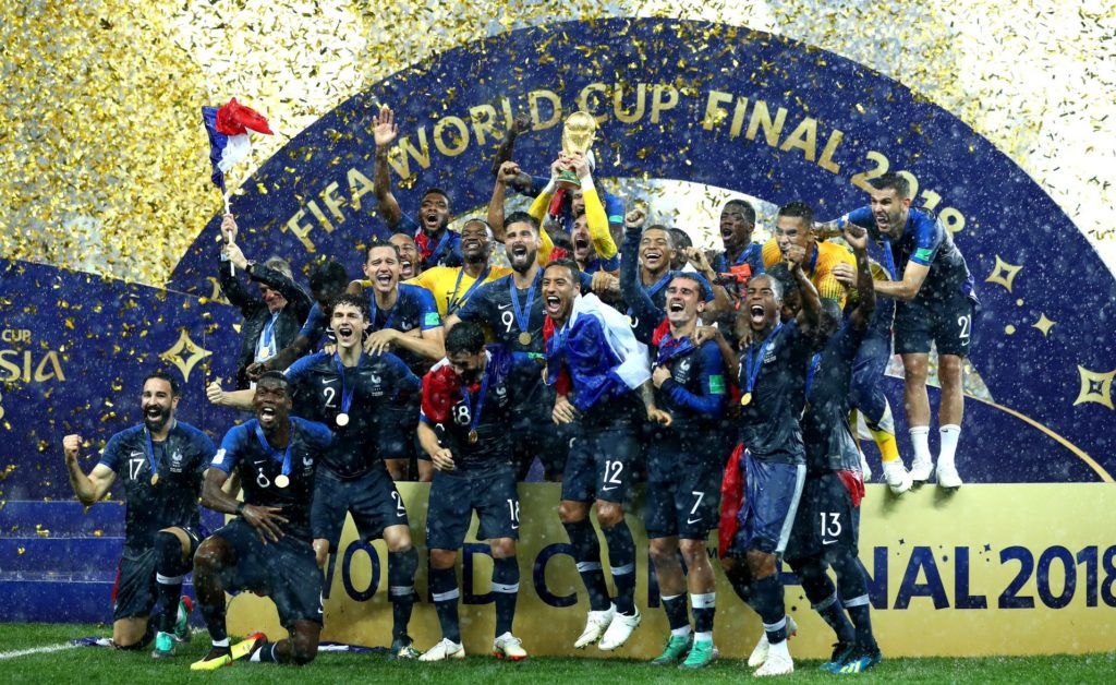France won 2018 World Cup thanks to its players of African origin -Venezuelan president