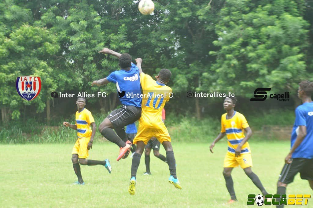 Friendly Report: Inter Allies 3-0 Madina Republicans- Allies show pedigree against Division Two side