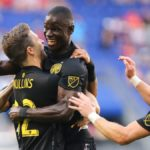Video: Ghana defender Mensah scores at both ends as Crew beat Red Bulls
