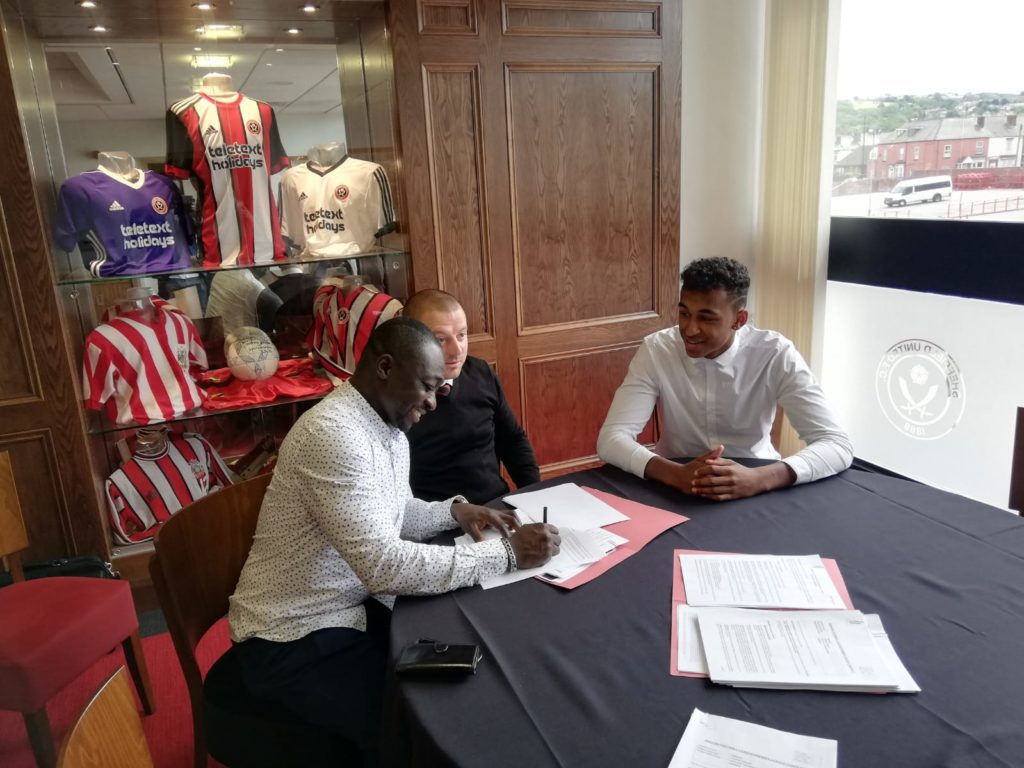 EXCLUSIVE: Young Ghanaian goalkeeper Jordan Amissah joins Sheffield United