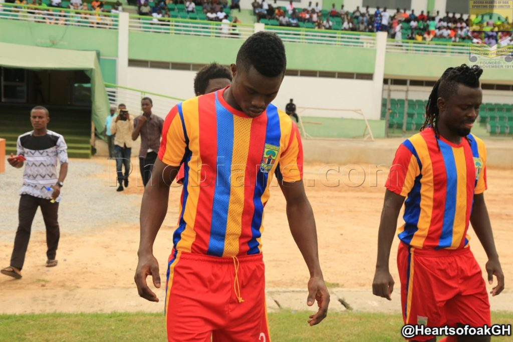 Hearts of Oak striker Kojo Obeng Junior promises more after scoring first goal