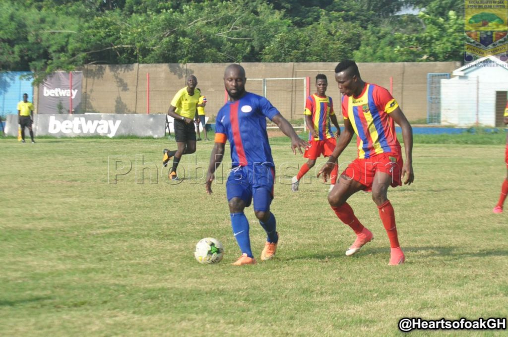Friendly Report: Liberty Professionals 2-2 Hearts of Oak- Scientific Lads fight back to share spoils with Phobians