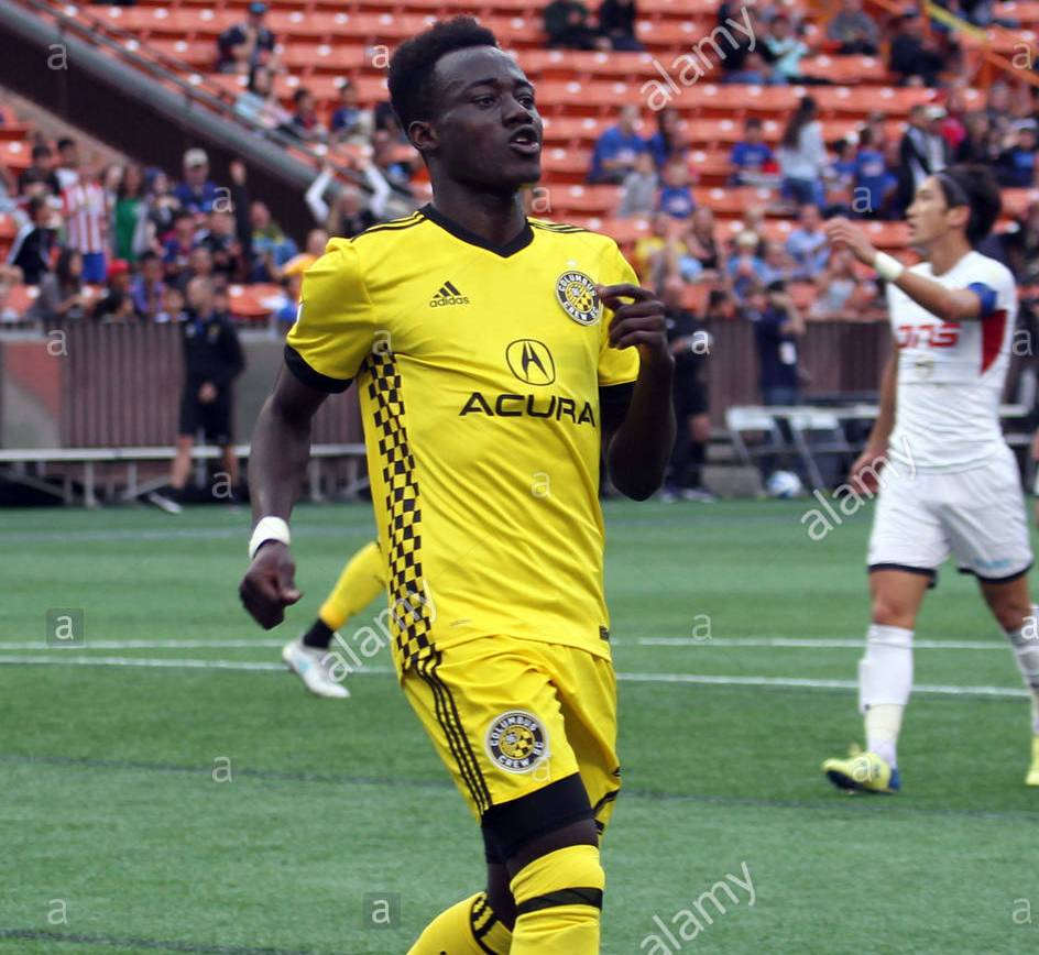 How Columbus Crew midfielder Edward Opoku achieved his dream of becoming a professional footballer