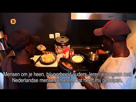 VIDEO: Mathew Amoah cooks with Thomas Agyepong, wants the winger to stay at Nac Breda