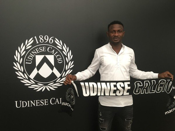 Ghanaian defender Nicholas Opoku features for Udinese in friendly win over ND Gorica