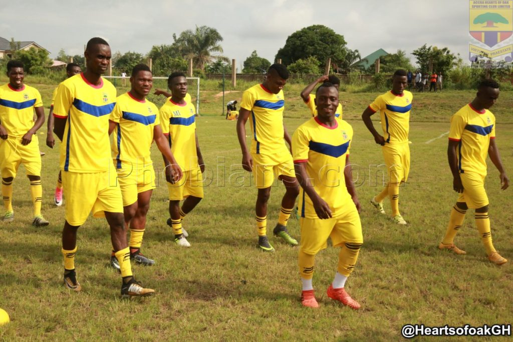 PHOTOS: Hearts of Oak hold historic maiden training session at Pobiman complex