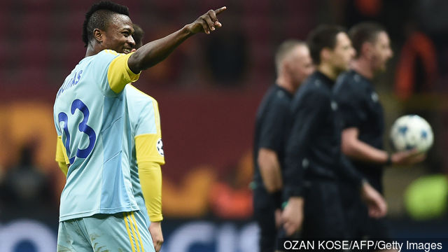 Patrick Twumasi set to spearhead Astana in UEFA Champions League qualifying round against  Sutjeska today