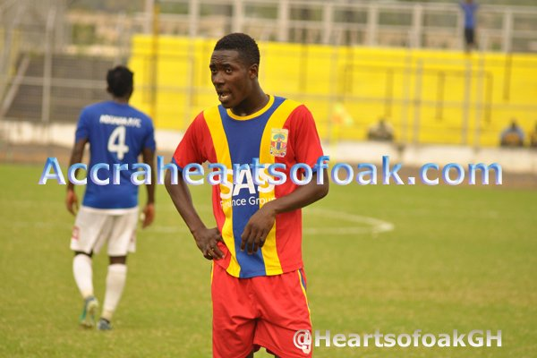 Hearts interim coach Seth Hoffman insists Cobbinah's departure is blessing in disguise